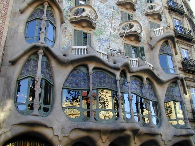 Gaudi's Casa Batllo, photograph courtesy of Cambridge200