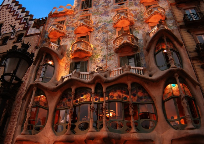 Gaudi-House, photo courtesy of Irene Turner