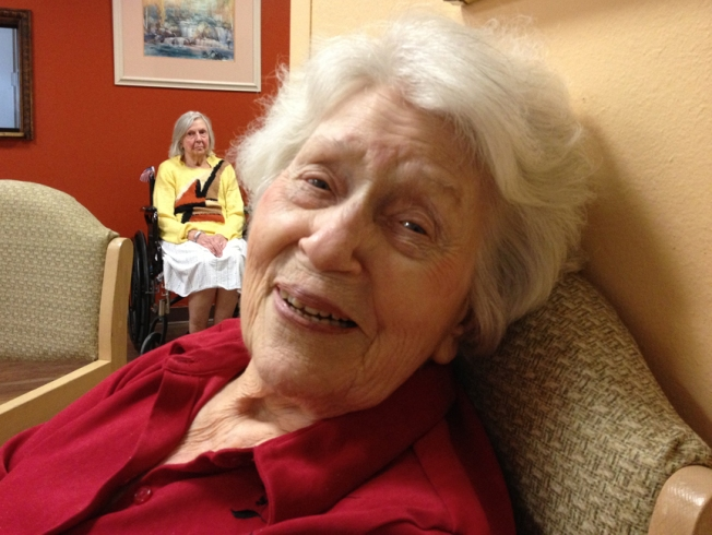 Grandma, almost 100