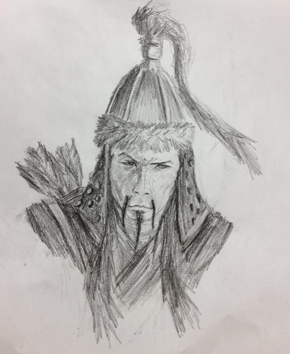 Liam McKinnon 2012, Genghis Khan