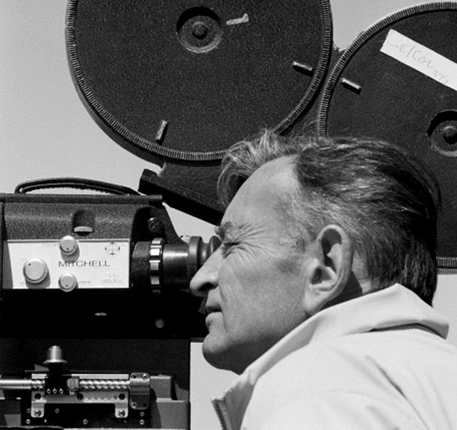 David Lean shooting Dr. Zhivago photo by Bradley Smith