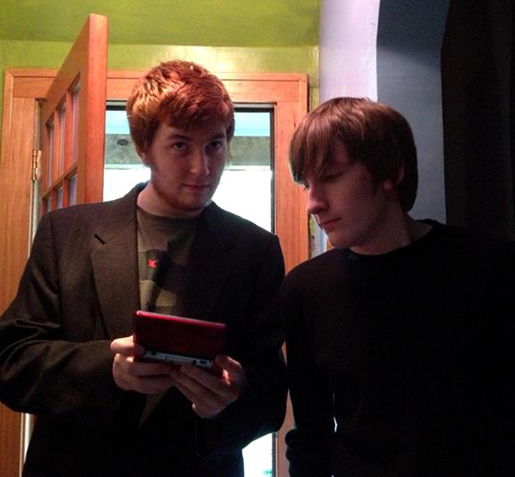 Liam and Evan June 2013