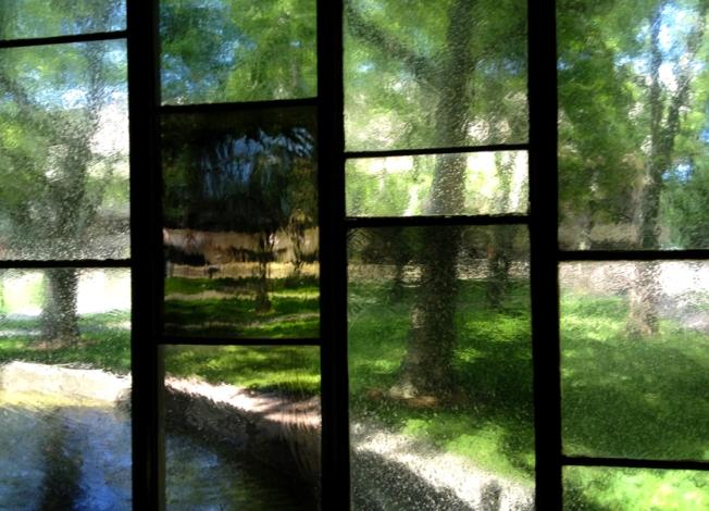 MIT Chapel glass