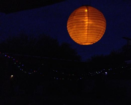 Supermoon lantern