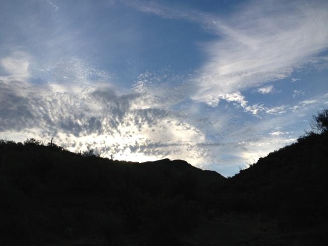 Aravaipa sky