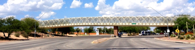 Diamondback Bridge in Tucson