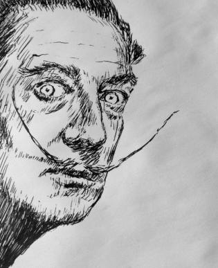 Liam Dali sketch 2