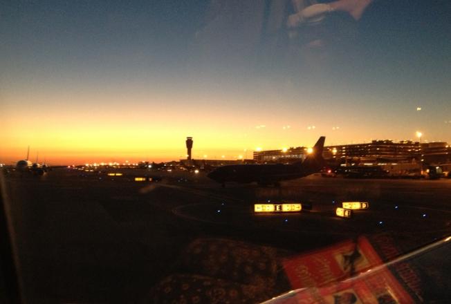 Sky Harbour Sunset