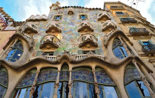 Gaudi's Casa Batlló, photo courtesy of Tripomatic Barcelona