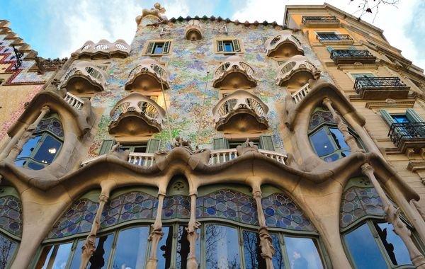 Gaudi's Casa Batlló, photo courtesy of Tripomatic Barcelona