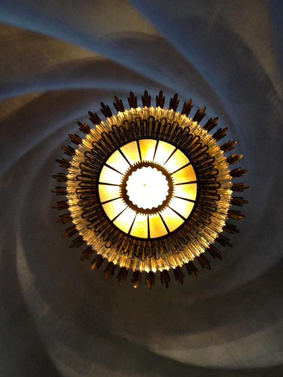 Batllo light fixture Gaudi