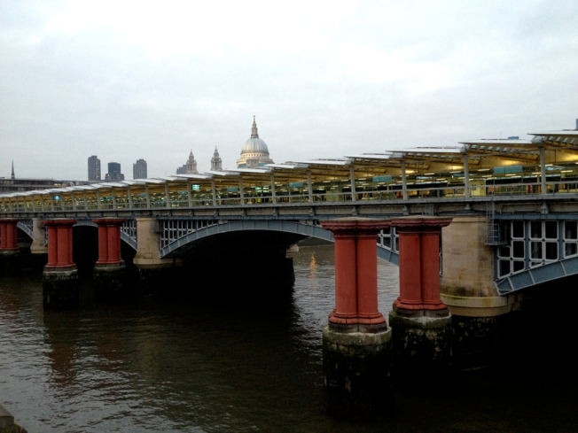 Blackfriars Solar Bridge London