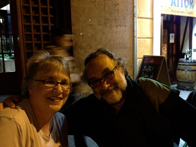Cindy and Ed in Barcelona
