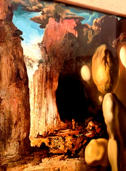 Dali Detail, Narcissus