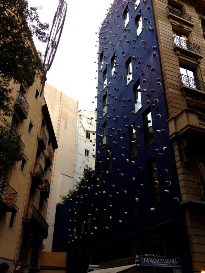 Googly building Barcelona 2