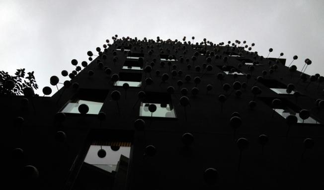 Googly building Barcelona