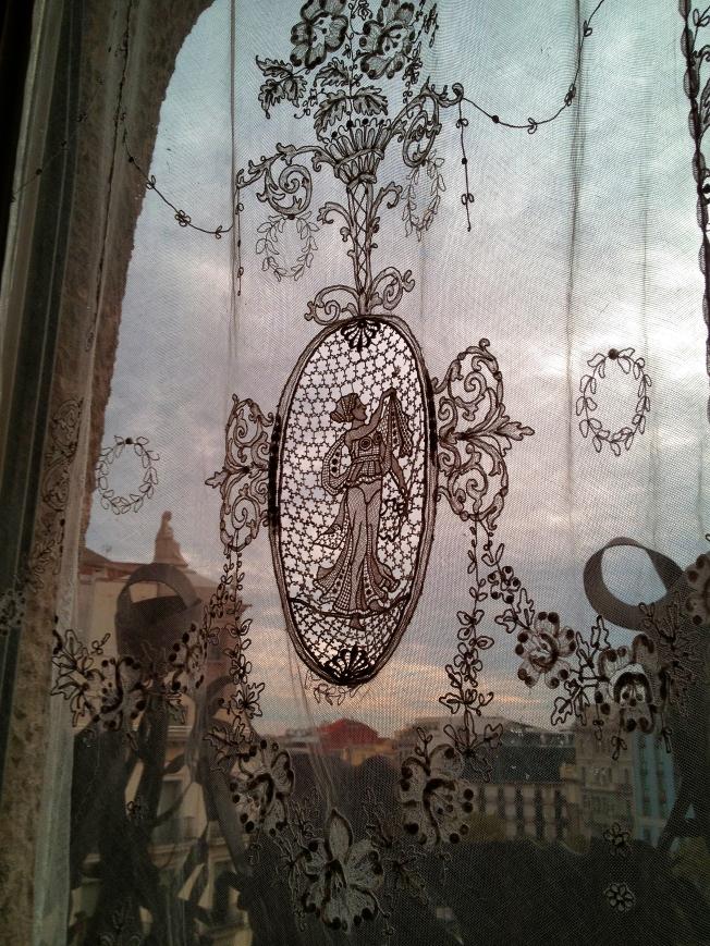 La Pedrera apartment window