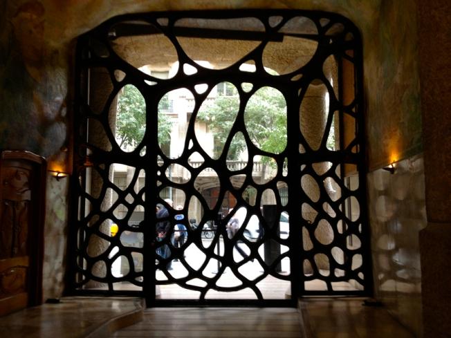 La Pedrera gates