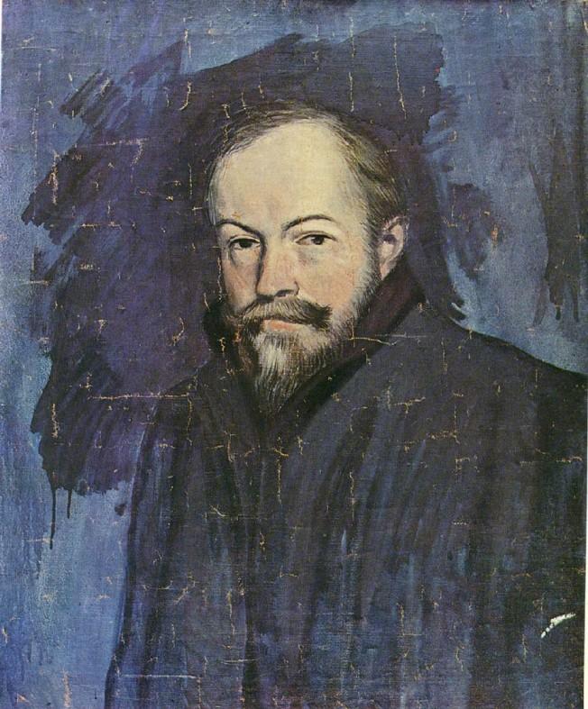 Picasso portrait of Sebastia Junyent