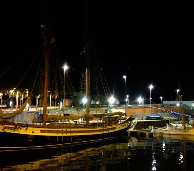 Sailing ships, Barcelona