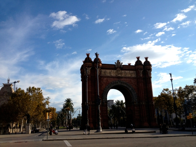 sunny sunday in barcelona
