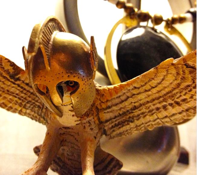 Athena Owl Gordon Uyehara