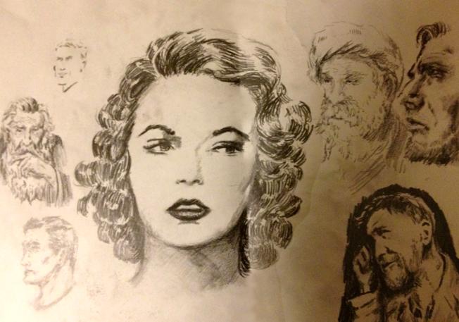 Random Liam sketches