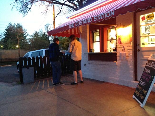 Custard Station, Evan and Liam