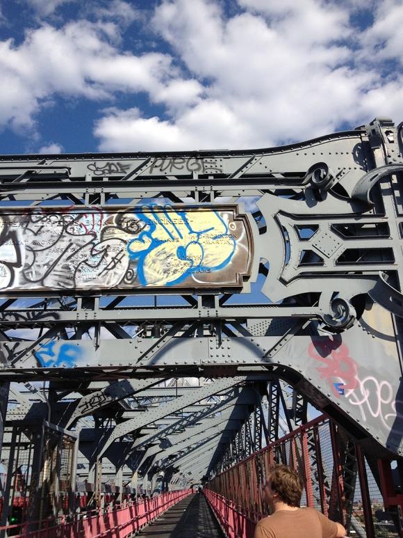 ryan on the williamsburg bridge may 2014