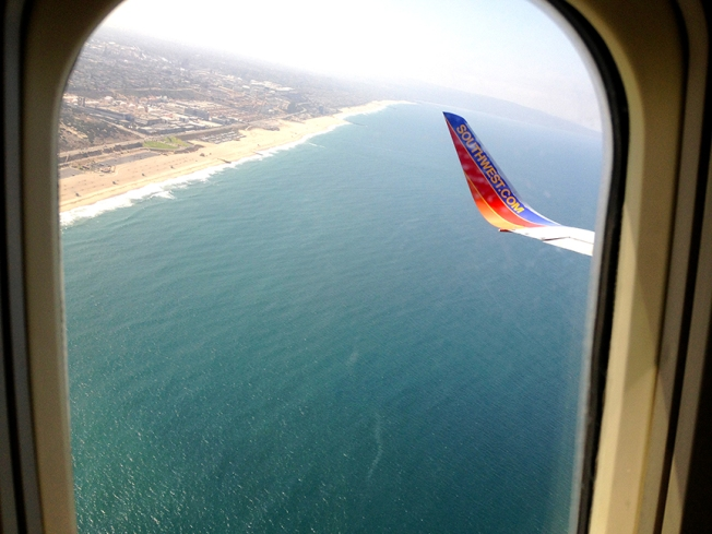 Southwest from LAX