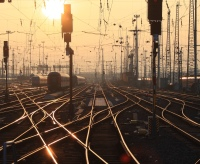 SunsetTracks Frankfurt Central Station Arne Hückelheim