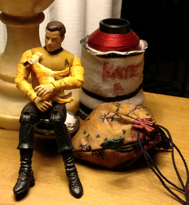 Kirk is tender and solicitous