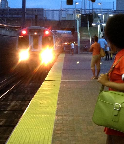 Orange at the Orange Line