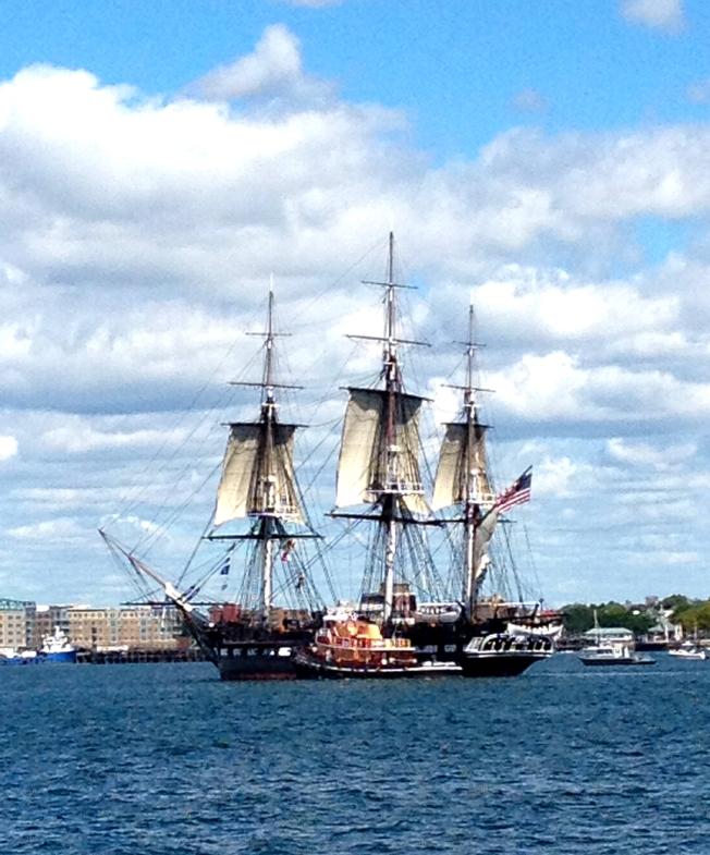 Constitution sailing
