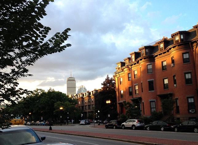 Boston sunset 2