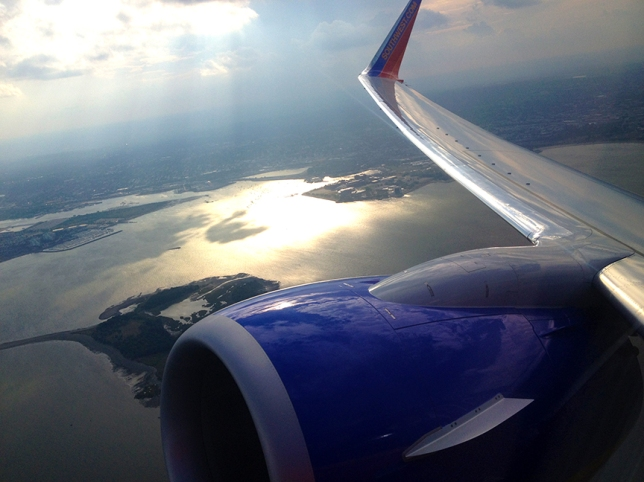 leaving Boston
