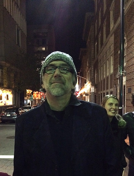 Bill in Harvard Square