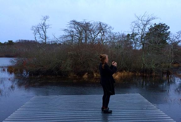 gail on the marsh