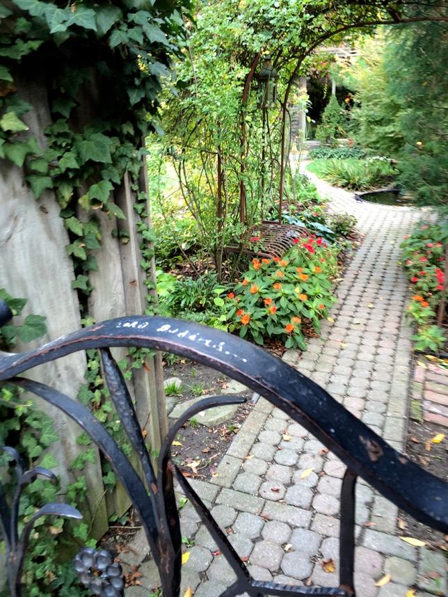 garden on franklin