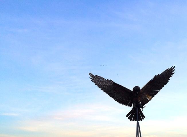 owl sculpture tip