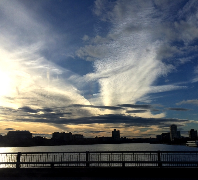 beautiful boston sky