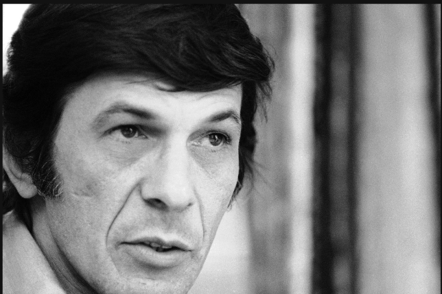 Nimoy by Jerry Mosey AP