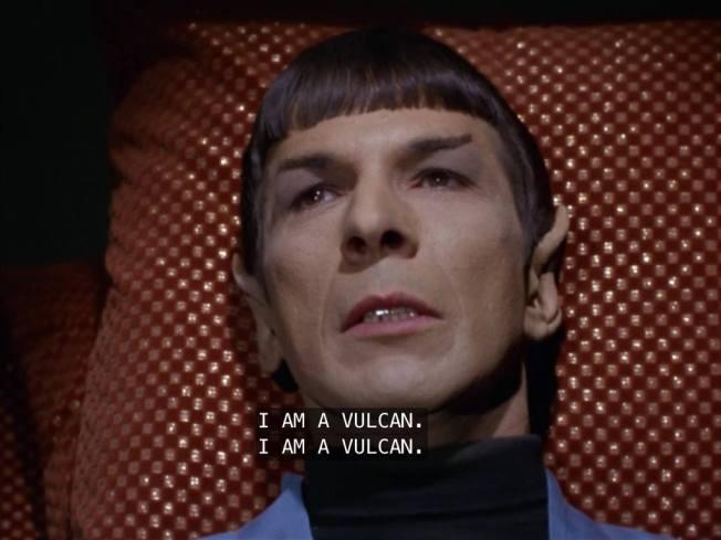 Nimoy I Am Vulcan