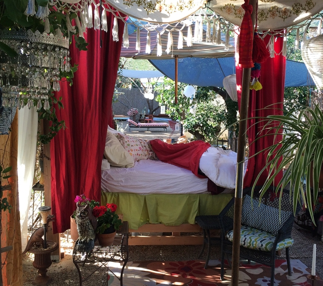 outdoor bed for sleeping