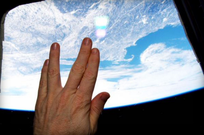 Vulcan goodbye from Terry Virts, NASA astronaut