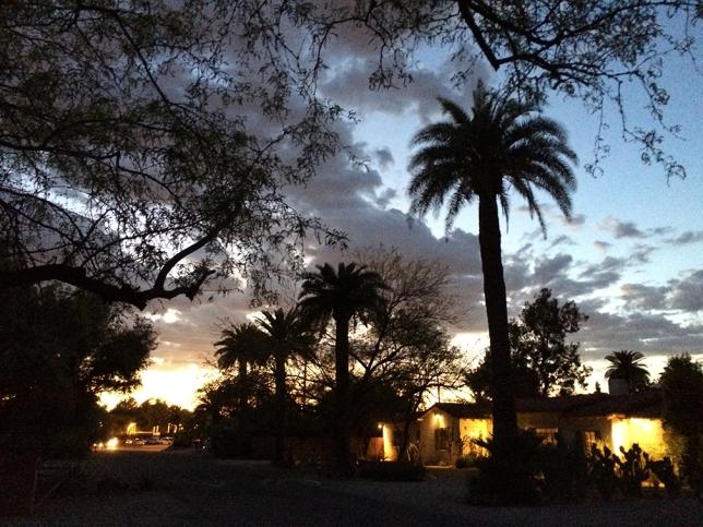 tucson sunset mar 31