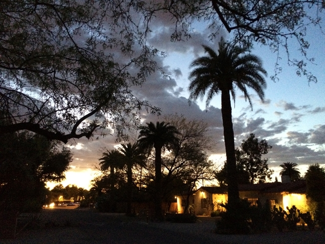tucson sunset mar 31