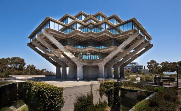 Geisel Library at UC San Diego, designed by William Pereira photo Darren Bradley