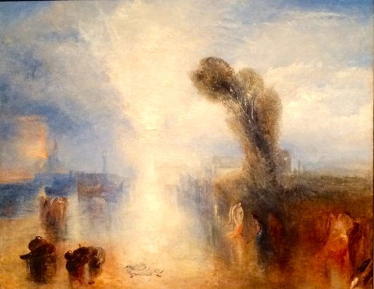 Turner at the Getty, photo by Kate McKinnon