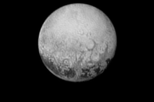 Pluto, Charon face, July 11, 2015